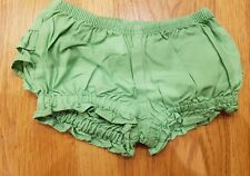Gymboree Green shorts / knickers   0-3 months