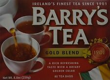 Barrys Gold Blend Tea Bags, 80 Count (Pack of 3)
