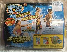 Water Bomb Balloon Launcher Shoots Over 200 Ft,50 Water Balloons & Filler Age 8+