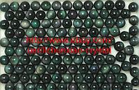 2.2lb Wholesale RAINBOW !! NATURAL Cats Eye Obsidian QUARTZ CRYSTAL Sphere Ball