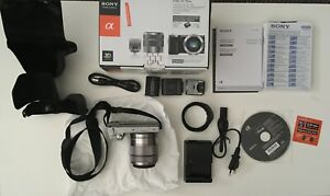 SONY NEX-5N Kit 18-55 mm silver Systemkamera