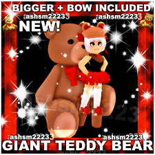 Royale High Roblox ORIGINAL Giant Teddy Bear (Read Description!)