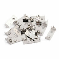 20Pcs Silver Tone Metal CR2032/CR2025 DIP Battery Shrapnel Battery Holder
