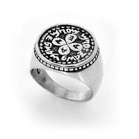 Silver Kabbalah  Amulet Rings