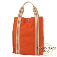 Hermes SAC de Plage Nomad Escale PM canvas Orange Free Shipping