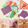 5 Sheet Dot Stickers Package Label Stationery Sticker Tag Party Decoration