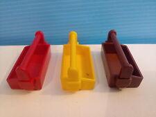 sympa  lot de caisse a outil  playmobil ( chantier , ouvrier , travaux    ) 0797