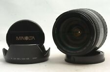 @Ship in 24 Hrs@ Mint@ Minolta AF Zoom 28-105mm f3.5-4.5 Macro Sony A-Mount Lens