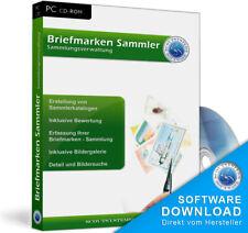 Briefmarken Sammlung, Sammler Software, Sammlerwert