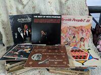 Vinyl records lot 1950's - 1980's