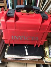 RED Invicta 8-Slot Watch Dive Case