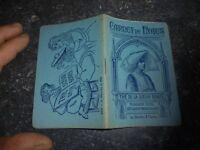 Ancien Calepin Bloc Note Carnet de Note du Thé de la Soeur Borel à Tournus