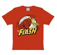 T-shirt pour enfant l'éclair rouge- DC - Flash -The Fastest Man Alive - col rond