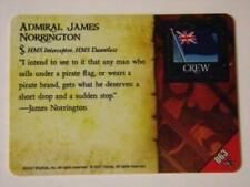 Pirates PocketModel Game - 063 ADMIRAL JAMES NORRINGTON