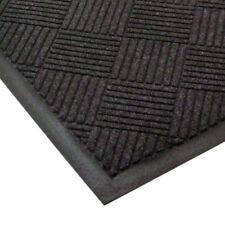 Entrance Floor Mat 3 Feet Wide, Diamond Pattern Charcoal Size 10 Feet Long