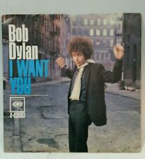 Bob Dylan Columbia 4-43683 I WANT YOU (GREAT ROCK N ROLL 45/PS) PLAYS VG