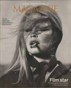BRIGITTE BARDOT - VINCENT CASSEL - Vintage British INDEPENDENT Magazine 2003