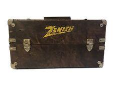 Vintage Zenith Repairman Tool Box