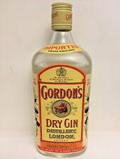 1 Bouteille de GORDON'S DRY GIN Distillery London England 60 ans d'âge scellé