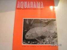 ** Aquarama 10/72 Barbus Titteya / Le poisson archer / Nothobranchius guentheri