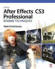 USED (GD) Adobe After Effects CS3 Professional Studio Techniques by Mark Christi
