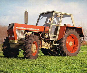 Zetor Tractors 12011 2045 8011 8045 2WD FWA Operator Manual Spares Parts Multi