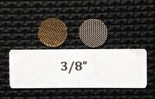 "3/8"" tobacco pipe screen filters - 25 count - stainless steel - high quality!"