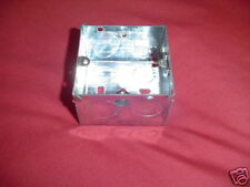 METAL BACK BOX  SINGLE FOR COOKER SWITCHES 47mm DEEP
