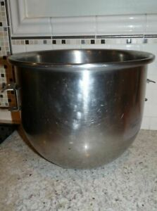 Genuine Hobart A200 20 Quart Commercial Bakery Stainless Steel Mixer Bowl
