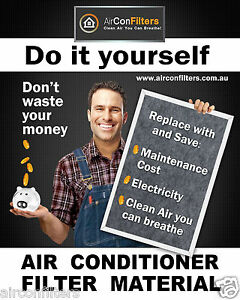 Air Conditioner/Air Conditioning G2 Ducted Filter Material Replacement Media
