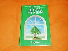 paul lesniewicz bonsai per interni edagricole 1988