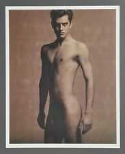 Karl Lagerfeld Limited Edition Photo 29x36cm Wyatt 1997 Male Akt Nude Body Model