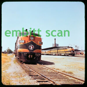 Original Slide, GN Great Northern ALCO FA2 #277B, in 1959
