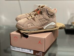 Jordan 6 Retro SP (PS) Travis Scott Cactus Jack 12C