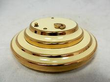 Seltene Puderdose / powder compact mit REUGE ( Swiss made ) Spieluhr unbenutzt !