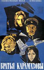 2 DVD SET: THE BROTHERS KARAMAZOV (1969) * with switchable English subtitles *