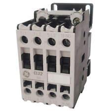 GE IEC Contactor, NonRev, 208VAC, 10A, 3P, 1NO, CL00A310TL