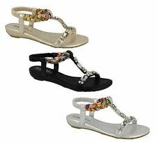 Wedge Casual Wet look, Shiny Sandals for Women