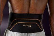 2 pk Copper Fit Pro Compression Lower Back Lumbar Support Brace Sm/Med or L/XL