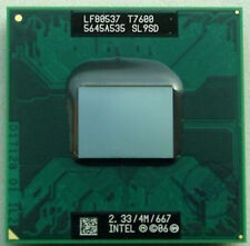 Intel Core 2 Duo T7600 SL9SD 2.33GHz/4M/667MHz Socket M CPU Processor