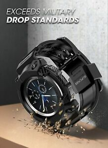 For Samsung Galaxy Watch 3 (45mm) SUPCASE Shockpoof Watch Case Watch Strap Band