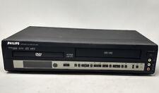 Philips DVD740VR DVD Player VCR VHS Recorder Combo HiFi TruSurround- NO REMOTE
