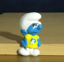 Smurfs Magnet Snappy Smurfling Figure Rare Vintage PVC Smurf Toy Figurine Peyo