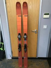 Blizzard Cochise Freeride Skis, size 185 cm with Marker Griffon Bindings