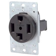 Leviton 3 Pole 4-Wire Dryer Flush Mount Power Outlet 30A/125/250V 071-278 New