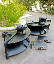 2 Electro Voice Sentry-4 Sm120-A Horns & 1823M Drivers & Crossovers, No Tweeters