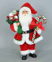 CHRISTMAS DECORATIONS -  CANDY CANE SANTA