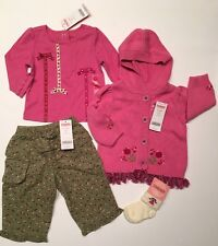 NWT Gymboree Peruvian Doll 6-12 Months Tassel Sweater Flower Pants Top & Socks