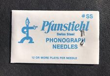 100 Pfanstiehl Steel Needles For Phonograph Victor Victrola