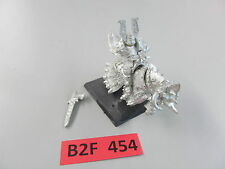 Warhammer Fantasy AoS oop metal Warriors of Chaos Lord of Khorne - w/ mount